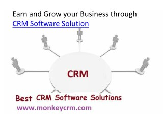 Earn and Boost your business with online CRM Software Solutions