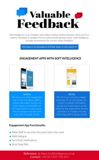 Valuable Feedback App with Soft Intelligence