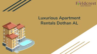 Best Apartment Rentals Dothan AL For Rent