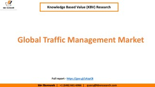 Global Traffic Management Market Growth