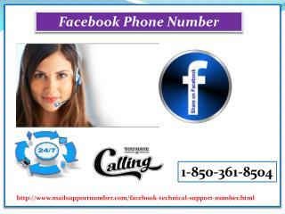 Is Facebook Phone Number 1-850-361-8504 available for Canadian citizens?