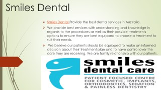 Dentist North lakes