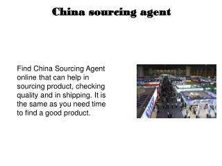 China Sourcing Company