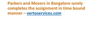 Relocation Services | Packers and Movers Bangalore