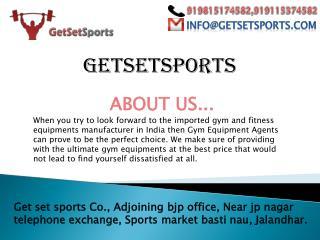 Set up your home gym with Getsetsports.com