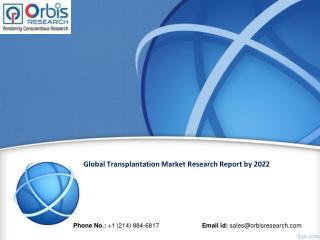 Global Transplantation Market Research Report 2022