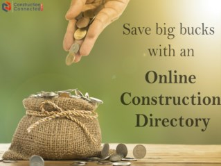 Save big bucks with Online Construction Business Directory