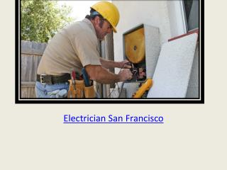 Electrician San Francisco