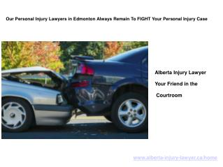 Best Personal Injury Lawyer In Edmonton, Alberta