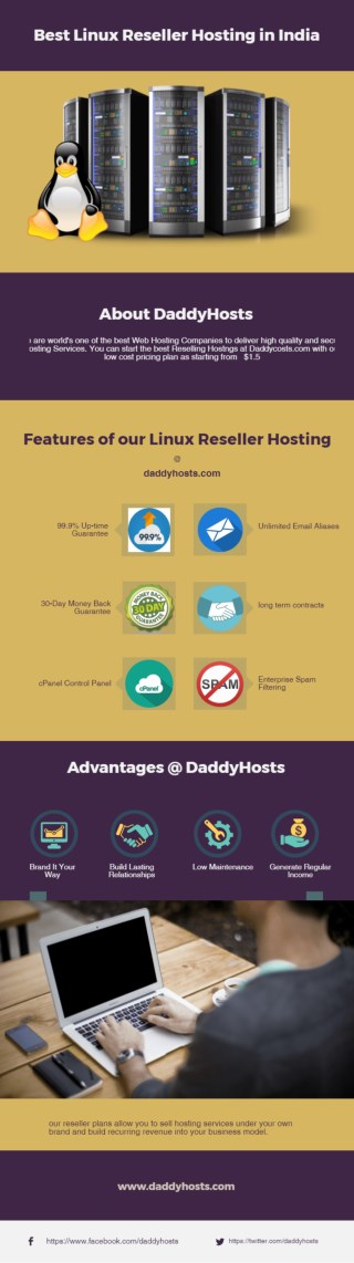 Get Best Linux Reseller Hosting in India at Attractive Prices