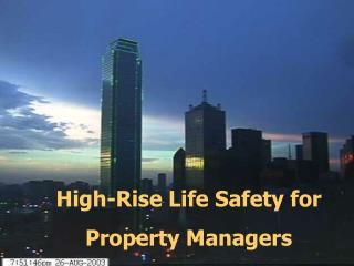 High-Rise Life Safety for Property Managers
