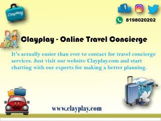Clayplay.com – Your Best Online Travel Concierge