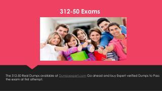 312 50 exams