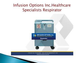 Infusion Options Inc.Healthcare