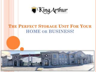 King Arthur Self Storage in Draper