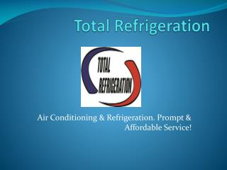 Total Refrigeration