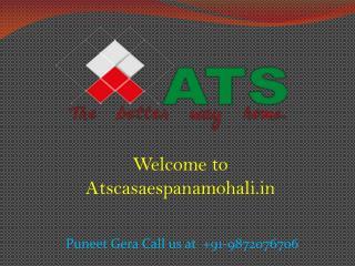 ATS Casa Espana Mohali - ATS Sector 121 Mohali - Atscasaespanamohali.in