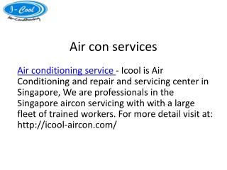 Aircon servicing singapore at affordable charges