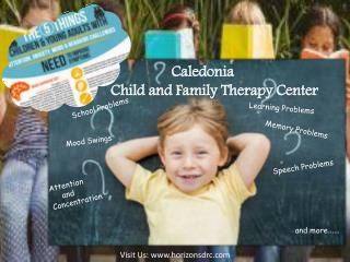 Caledonia child and family therapy center