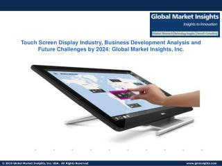 Touch Screen Display Industry, Business Development Analysis and Future Challenges by 2024
