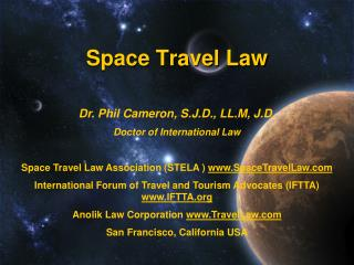 Space Travel Law