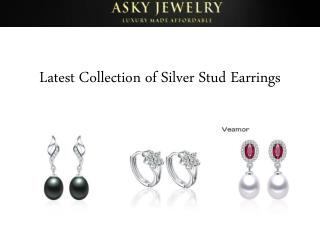 Latest Collection of Silver Stud Earrings