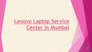 Lenovo Laptop Service Center in Mumbai