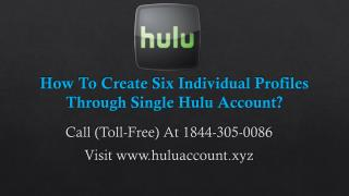 www Hulu Com Account Settings Call 1844-305-0086