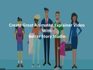 Craetive Explainer Video Production