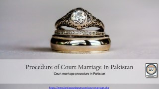 Best Court Marriage Procedure In Pakistan | Procedure Of Court Marriage In pakistan