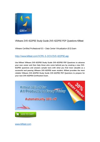 2V0-622PSE VMware Certification Training