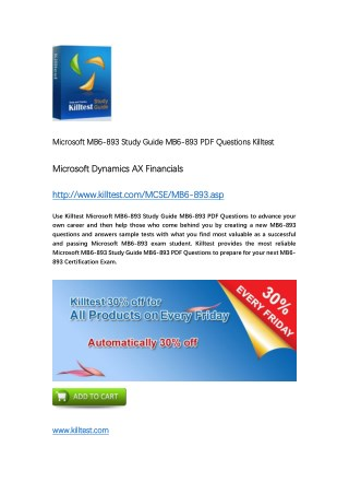 MB6-893 Microsoft Certification Training