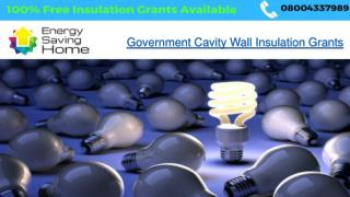 Government Cavity Wall Insulation Grants - Energy Saving Home