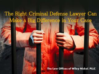 North Carolina Expungement Lawyer | Wiley Nickel