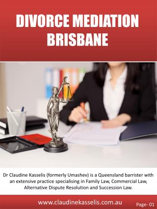 Divorce Mediation Brisbane