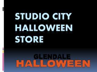 Studio City Halloween Store