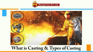 Mangal Iron - Investment Casting Foundry India