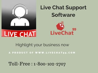 Live Chat Support Software entice new customers to your services