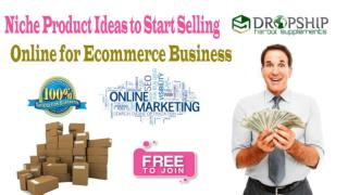 Niche Product Ideas to Start Selling Online for Ecommerce Business