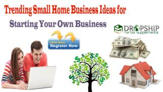 Trending Small Home Business Ideas for Starting Your Own Business