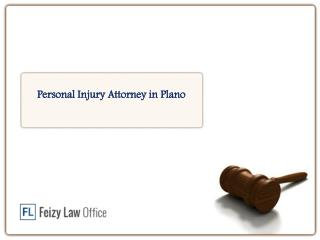 Personal Injury Attorney in Plano  - Feizylaw.com