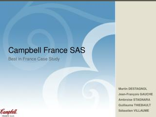 Campbell France SAS