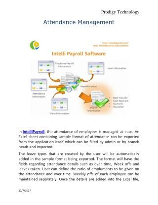 online payroll| payroll management software | Intelli payroll
