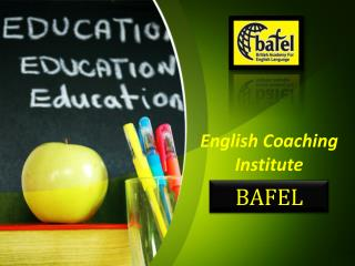 Best English Institute in India