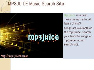 MP3JUICE Music Search Site