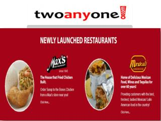 twoanyone Food Delivery | Online Takeout | Shakey's Delivery