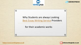 Best Essay Writing Service providers in UK - WritingHubUK