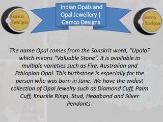 Widest Collection of Opal Jewelry At Right Price
