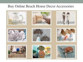 Beach Decor Accessories for your House