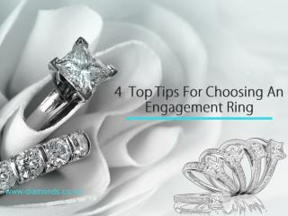 Tips In Choosing An Engagement Ring